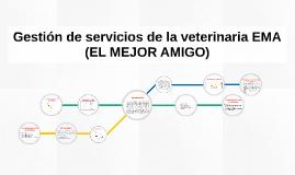 Gestión de servicios de la veterinaria EMA