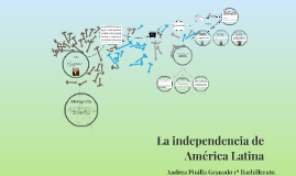 Copy of La independencia de América latina