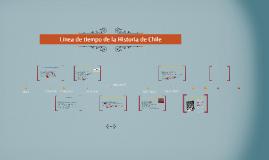 Línea de tiempo de la Historia de Chile