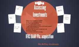 IFRS GAAP Plc. acquisition