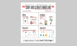 CROP AND CLIMATE MODELING TEAM