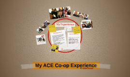 My ACE Co-op Experience