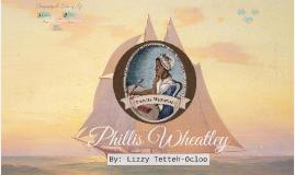 Copy of Phillis Wheatley
