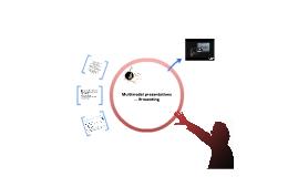 Multimodal presentations — Presenting