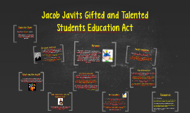 Jacob Javits Gifted and Talented