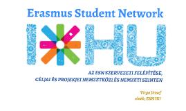 Erasmus Student Network orzságos bemutató