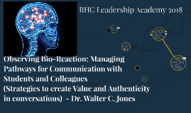 Copy of Observing Bio-Reaction: Strategies to create Value and Authe