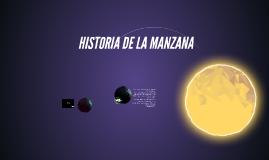 HISTORIA DE LA MANZANA
