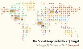 Social Responsibilities of Target