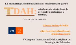 Copy of El Trastorno por Déficit de Atención/Hiperactividad: controv