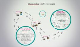 L'immigration vers les années 1905