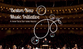 Boston New Music Initiative