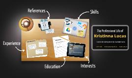 Desktop Prezumé by Kristinna Lucas