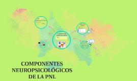 COMPONENTES NEUROPSICOLÓGICOS DE LA PNL