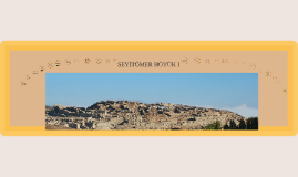 Copy of SEYİTÖMER HÖYÜK I