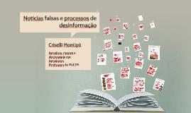 Notícias falsas e processos de desinformação