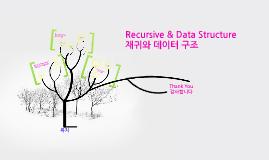 Recursive & Data Structure