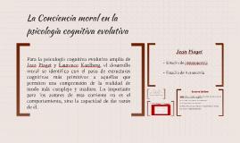 La Conciencia moral en la psicología cognitiva evolutiva