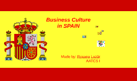 Business culture in spain