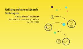 Utilizing Advanced Search Techniques