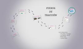 FUERZA DE TRACCION