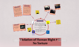 Copy of Human Right # 5 : No Torture