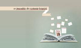 10 powodów do czytania książek