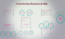 L'insertion des allocataires du RSA