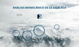 Copy of ANÁLISIS BIOMECÁNICO DE LA ESCALADA