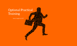 Optional Practical Training UCSF