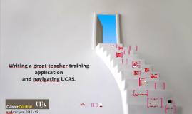 UCAS, ITT Applications - Personal Statements