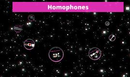 Let's Learn Homophones