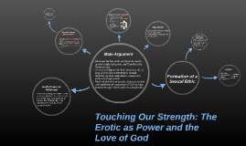 Touching Our Strength: The Erotic as Power and the Love of G