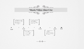 Music Video Shot List