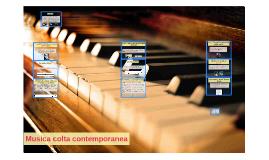 Musica colta contemporanea
