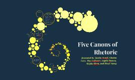 Copy of Five Canons of Rhetoric