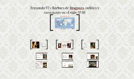 Fernando VI y Bárbara de Braganza, política y mecenazgo en el siglo XVIII