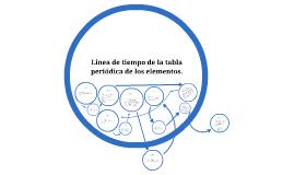 Linea de tiempo de la tabla peridica de los elementos by on prezi urtaz Choice Image