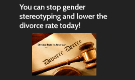 Divorce Rate In American