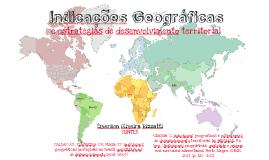 Indicações geográficas e estratégias de desenvolvimento territorial
