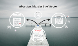 Abortion: Murder She Wrote