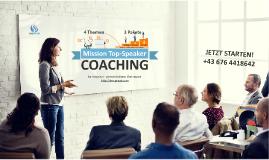 COACHING - Präsentation & Kommunikation | Mission Topspeaker