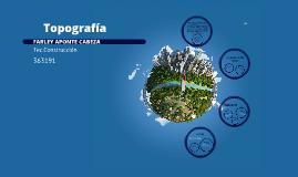 Copy of Topografía