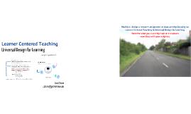 Learner Centered Teaching 2/12/14