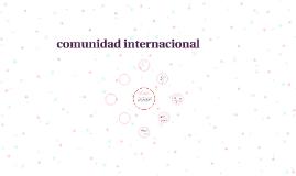 Que es la comunidad internacional ¿?