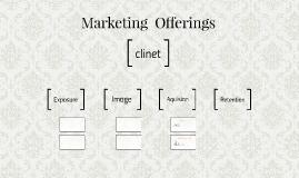 Marketing  Offerings
