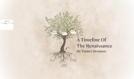 A Timeline Of                                     The Renais