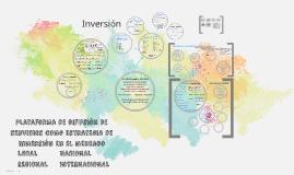 Plataforma de difusión de servicios como estrategi de inmers