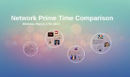Network Prime Time Comparison