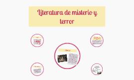 Copy of Literatura de misterio y terror